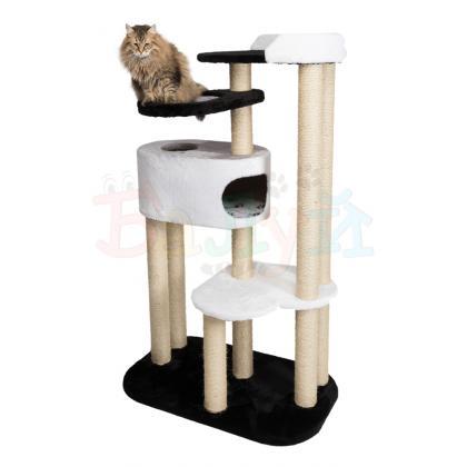 Игровой комплекс для кошек Балуй-04 сизаль