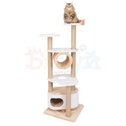 Игровой комплекс для кошек с тоннелем Балуй-05 джут