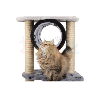 Игровой комплекс для кошек с тоннелем Балуй-05 сизаль