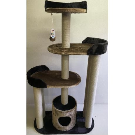 Игровой комплекс для кошек Балуй-10 джут