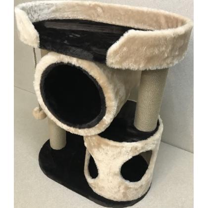 Игровой комплекс когтеточка для кошек Балуй-12 джут