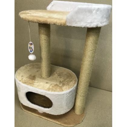Игровой домик для кошек Балуй-14 сизаль