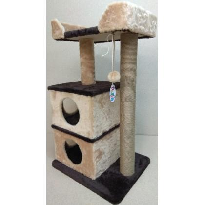 Игровой комплекс для кошек Балуй-19 джут
