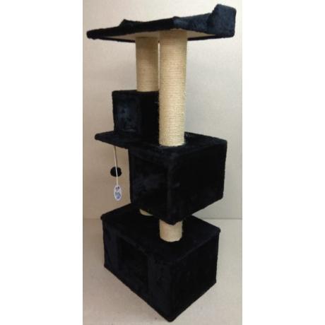 Игровой комплекс когтеточка для кошек Балуй-22 сизаль