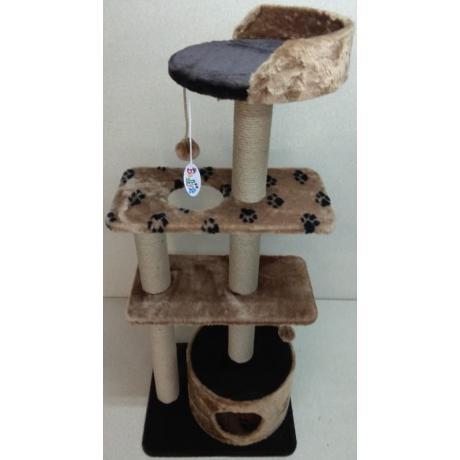Игровой комплекс для кошек Балуй-24 джут