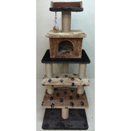 Игровой комплекс для кошек Балуй-26 джут