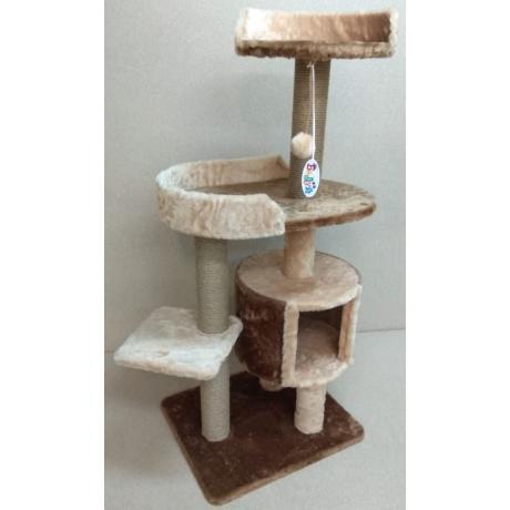 Игровой комплекс для кошек Балуй-27 джут