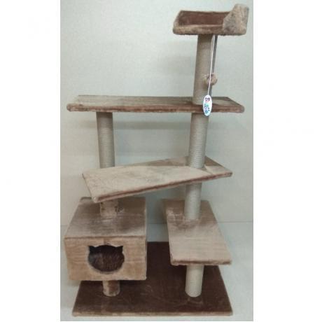 Игровой комплекс для кошек Балуй-33 джут