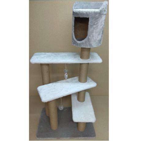 Игровой комплекс для кошек Балуй-34 джут