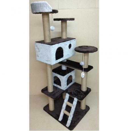 Игровой комплекс когтеточка для кошек Балуй-35 джут