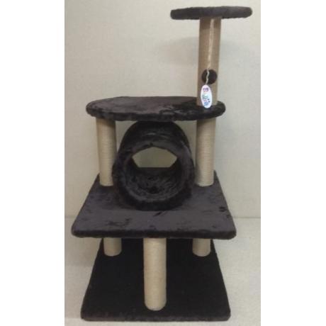 Игровой комплекс когтеточка для кошек Балуй-38 джут