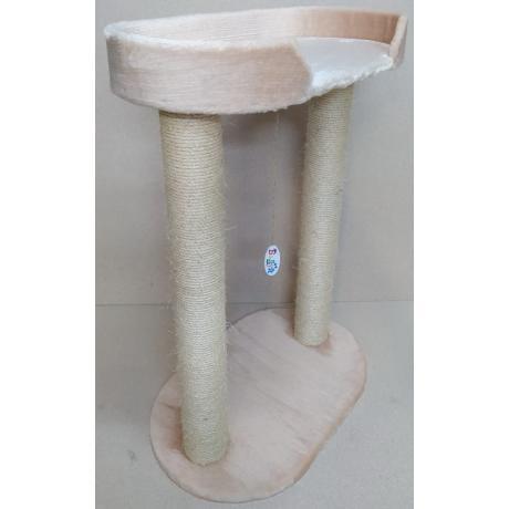 Лежанка для кошек Балуй-41, джут