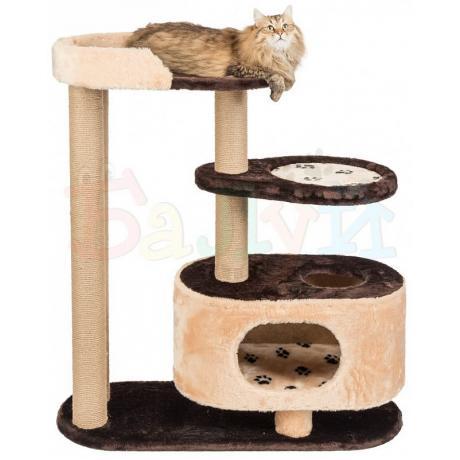 Домик для кошек с лежанкой и гамаком Балуй-02 джут