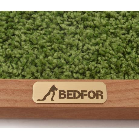 Когтеточка для кошек  Meadow - натуральный бук/зеленый