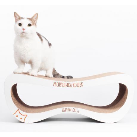 Когтеточка для кошек Infinity M из картона