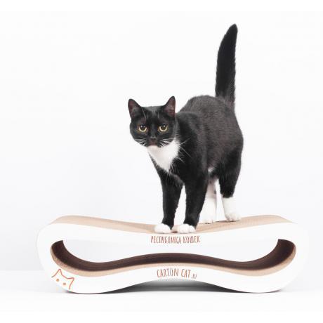 Когтеточка для кошек Infinity S картонная