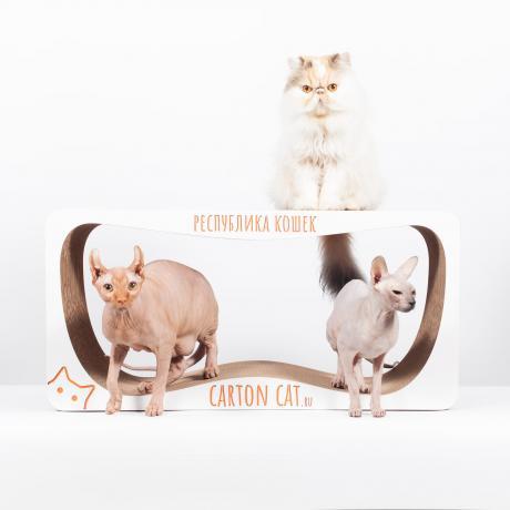 Когтеточка для кошек Infinity XL из гофрокартона