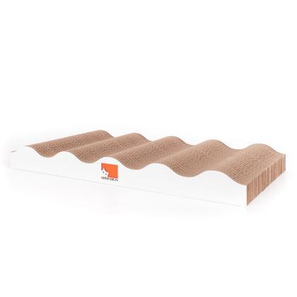 Когтеточка для кошек WAVES DOWN из картона