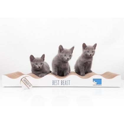 Когтеточка для кошек WAVES UP из картона