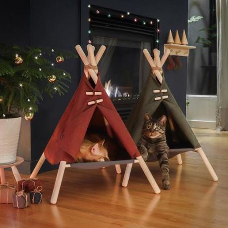 Домик-лежанка для кошек Wigwam