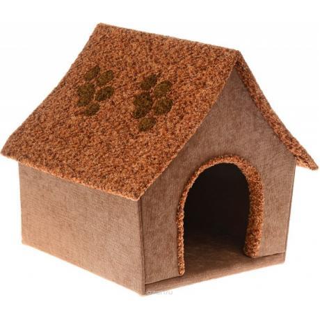 Домик для кошек  с острой крышей арт.1