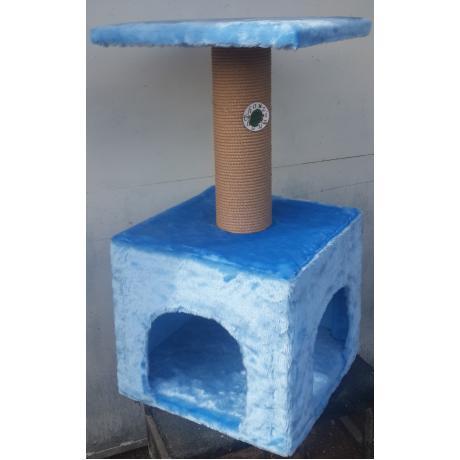 Когтеточка-домик для кошек