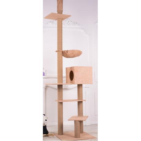Высокий игровой комплекс для кошек арт.19