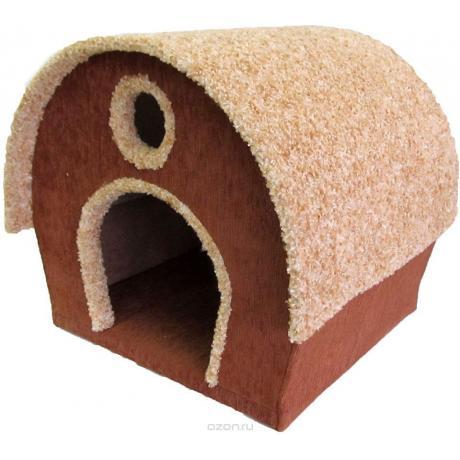 Домик для кошек с круглой крышей арт.2