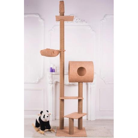 Комплекс игровой для кошек с упором в потолок арт.22