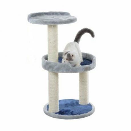 Комплекс для кошек с игрушкой