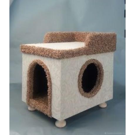 Домик для кошек «Замок на ножках» арт.7