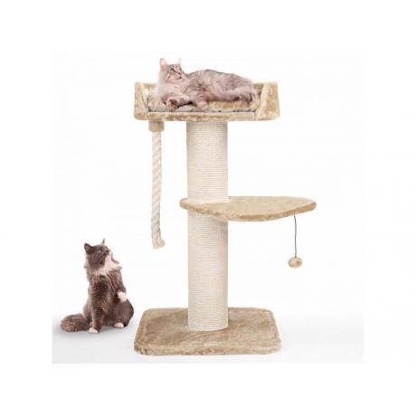 Когтеточка для кошек с двумя ярусами арт.9-2