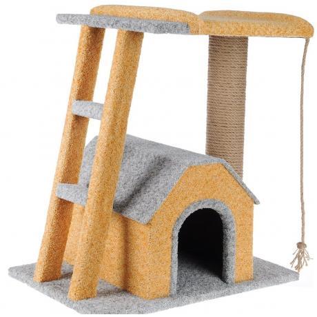 Комплекс со вторым этажом для кошек «Баюн»
