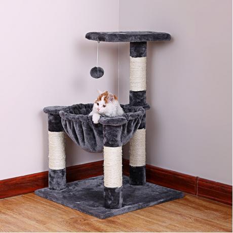 Комплекс с гамаком для кошек «Чип»