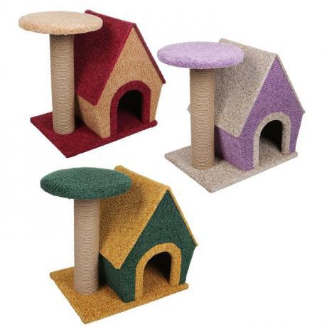 Комплекс для кошек «Домик и когтеточка»