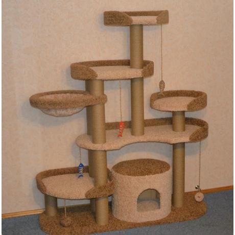 Большой игровой комплекс для кошек «Керия»