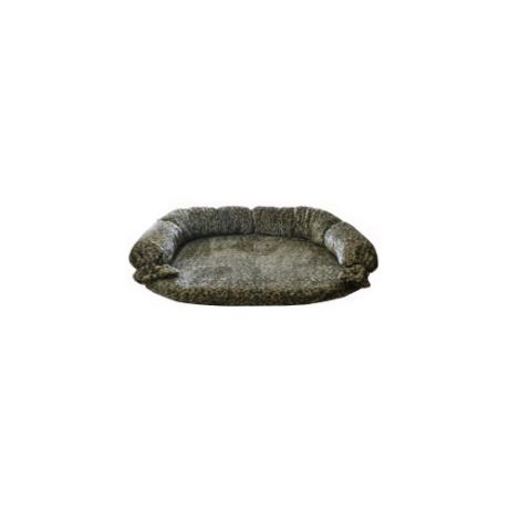 Диван с завязками, съемный чехол, мех (цвета в ассортименте)