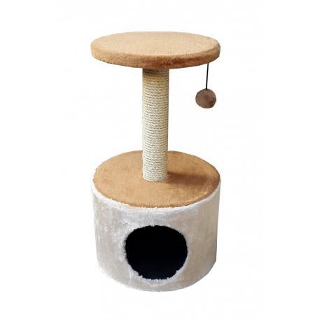 Когтеточка для кошек игровой комплекс с игрушкой Lion LMK102