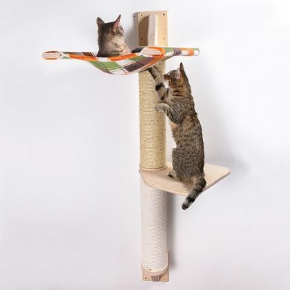 """Настенный игровой комплекс для кошек """"Токио 2"""""""