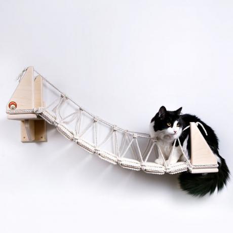 """Мостик-лесенка с перилами для кошки """"Путь ниндзя-2"""""""