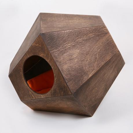 """Домик для кошки из дерева """"Котосфера"""""""