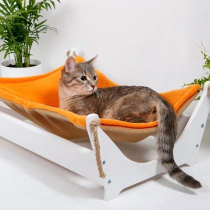 """Гамак для кошки напольный """"Ленивый котик"""""""