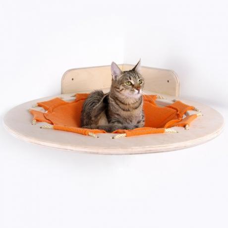 """Гамак для кошки подвесной угловой """"Взгляд с высоты"""""""