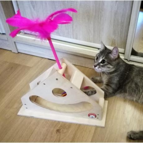 "Игрушка для кошки ""Качалка-дразнилка"""
