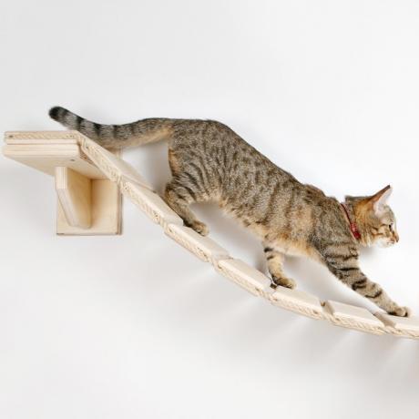"""Мостик-лесенка подвесной на стену для кошки """"Дорога к дому"""""""