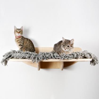 """Лежанка для кошек подвесная """"Смотровая площадка"""""""