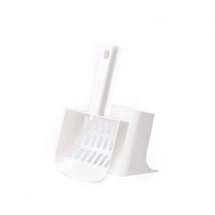 Совочек с подставкой для кошачьего туалета Pidan
