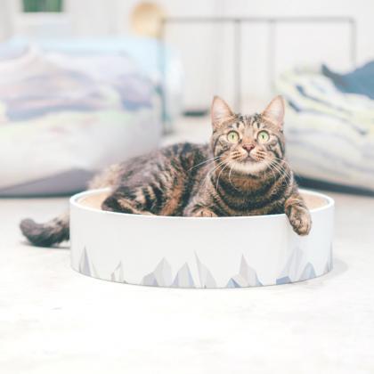 """Когтеточка-лежак для кошек Pidan """"Valley"""""""