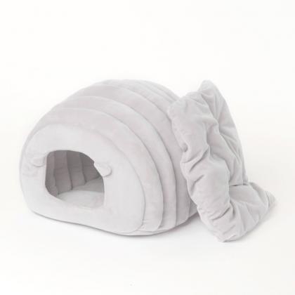 """Мягкая лежанка для кошек """"Овечка"""" от Pidan (серая)"""