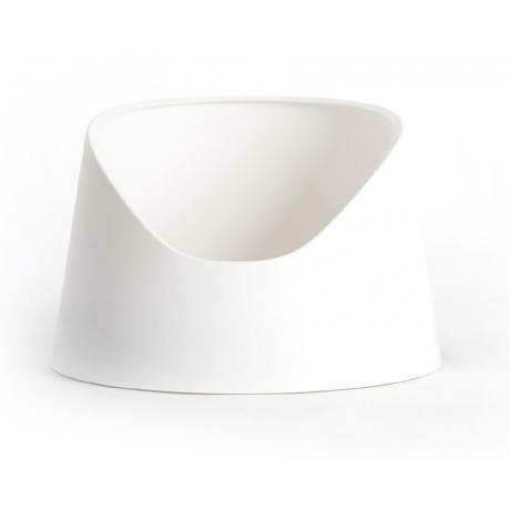 Открытый лоток для кошки Pidan, белый